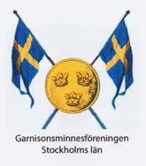 Garnisonsminnesföreningen Stockholms län Logo